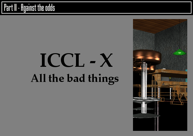 X - All the bad things